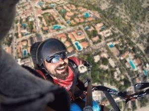 fethiye yamaç paraşütü pilot koray