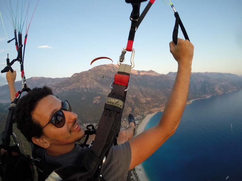Fethiye yamaç paraşütü pilotu olmak